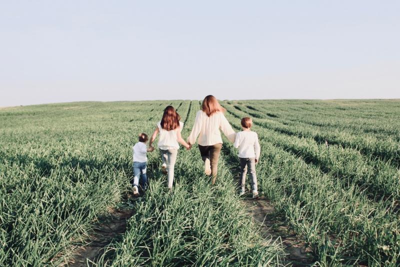 Marelle soins bio bébés et enfants dans les champs