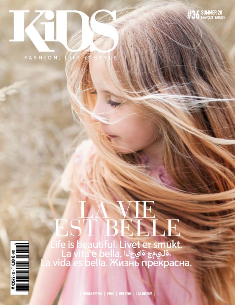 Marelle dans Kids Magazine