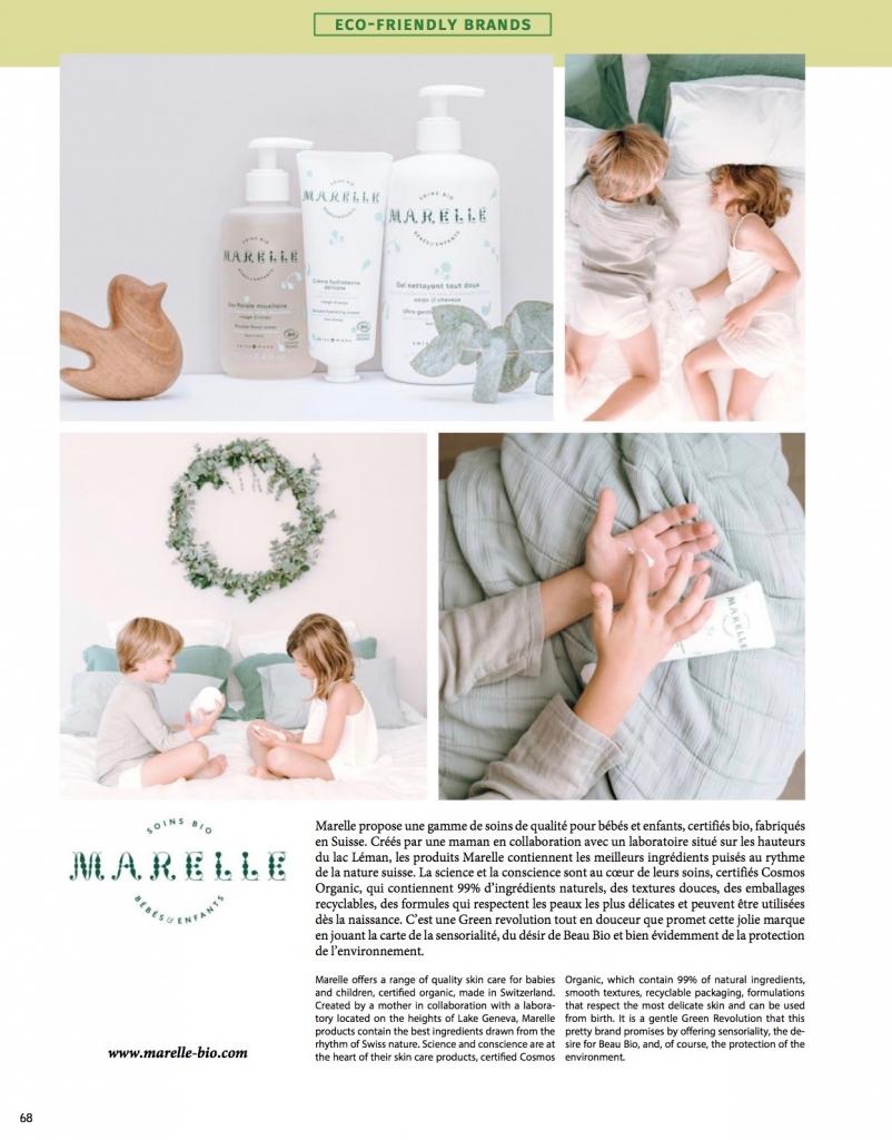 Marelle dans Kids Magazine parution