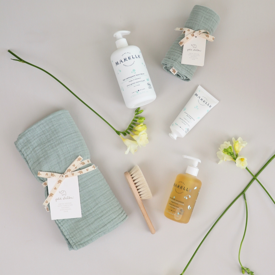 Baby Care Gift Set Marelle x Petit Stellou